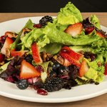 Blu Salad, fresh berries, house balsamic vinagirette