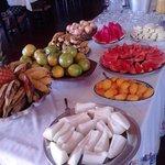 Las frutas del desayuno