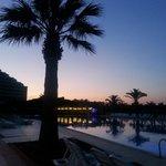Venosa Hotel on a beautiful evening :)