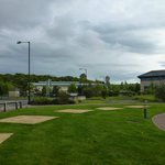 Hotel grounds outlooking