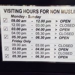 Open time for non Muslim