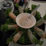 Salad rolls!