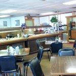 Interior of Hodges Corner Restaurant