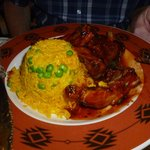 Ribs with saffron rice