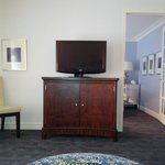 credenza in living room