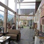 Art area as lobby