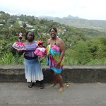 Supporting the Local Economies in St. Lucia..There actually is some pretty unique things to purc
