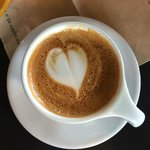 Cappuccino with a heart!