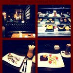 The delicious cakes & beverages swissbell
