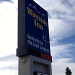 Wayside Motor Inn sign