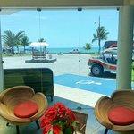 Recepção do Hotel Brisa da Praia.