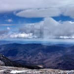view from Mt. Washington Observatory