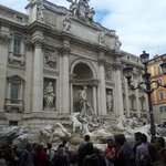 Trevi Fountain - from left