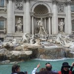 Trevi Fountain - front view