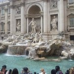 Trevi Fountain - from right