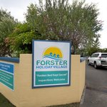 Entrance to the Forster Holiday Village