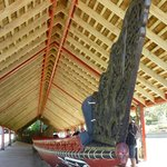 Cerimonial canoe