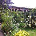 Hermosos jardines del Rincon del Arco en San Cristóbal, Chiapas
