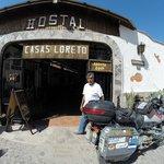 Abel Casas outside his excellent hotel/hostel