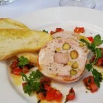 Chicken and pork terrine