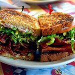 Scovie's BLT has a pound of bacon, and it was delicious...