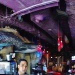 panaramic of bar