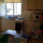 Kitchenette in value chalet