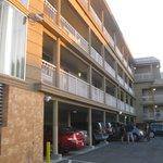 Francisco Bay Inn upper level wing.