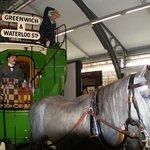 Horse drawn public transport