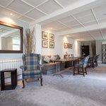 The refurbished William Leader room