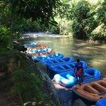Ayung River, Sobek starting point