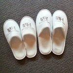 slippers in windsor room