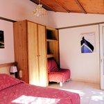 une chambre de 3