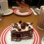 Cherry Kirsch & Honey Cake