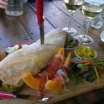 Vineyard platter & chardonnay
