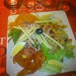 La salade composée