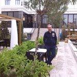 Garden in Sura hotel