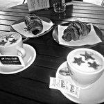 Un buen desayuno en nuestro punto de encuentro! ^^