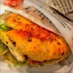 Mini kebab de pollo. ¡Riquísimo!