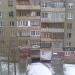 Вид из номера на соседний дом