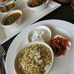 Spice Restaurant - my okra lunch set