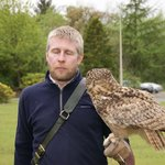 Greame and Corrie (European Eagle Owl)