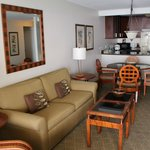 Our lounge dining area