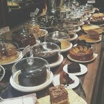 Variety of cakes.