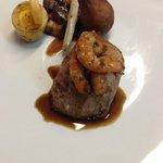 Filet Mignon de Veau et Crevettes