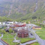 Flam town Norway
