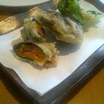 Uni tempura (avoid; waste of urchin!)