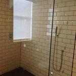 Monsoon rainfall shower/wet room