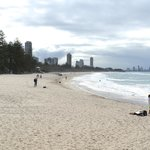 View from Burleigh Heads Surf Club towards Surfers Paradise