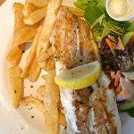 Grilled barramundi special. Yummy!